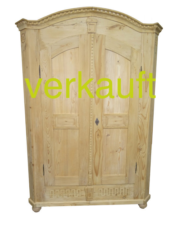 Barockschrank Tanne geschwungenApril15A verkauft