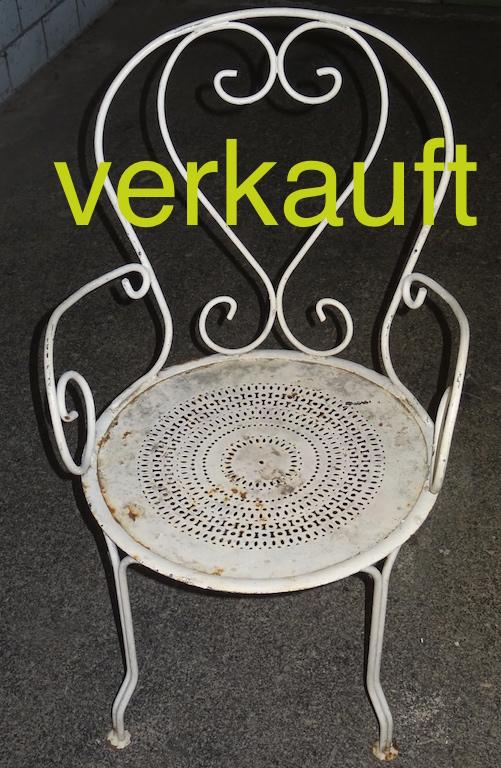 Verkauft 2 Gartenstühle Mai15A