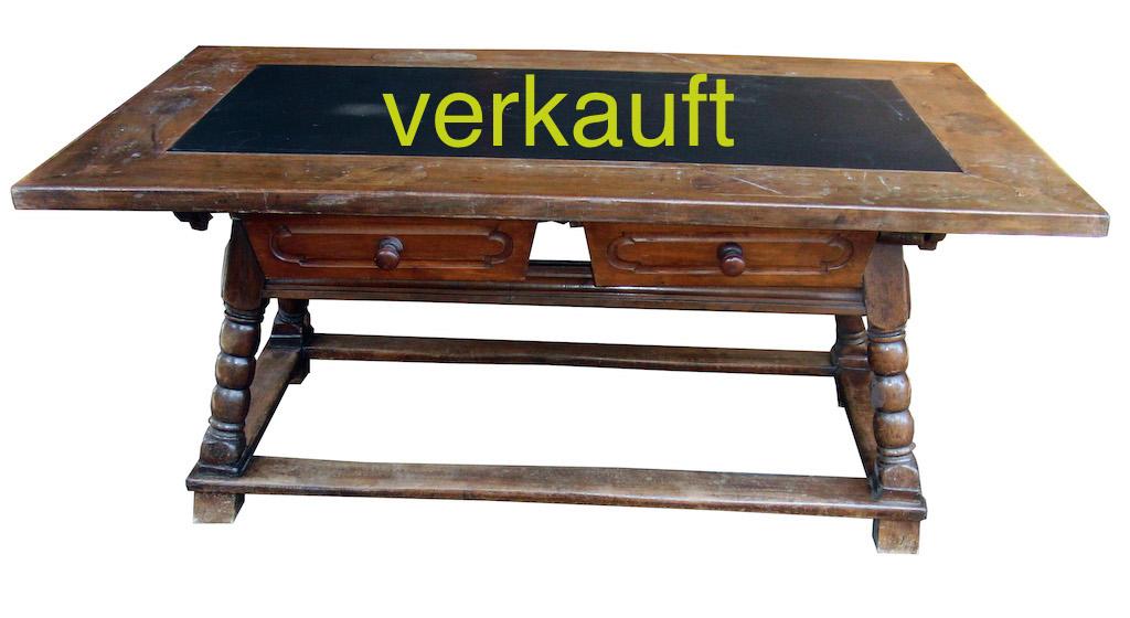 Verkauft Schragentisch länglich April15A