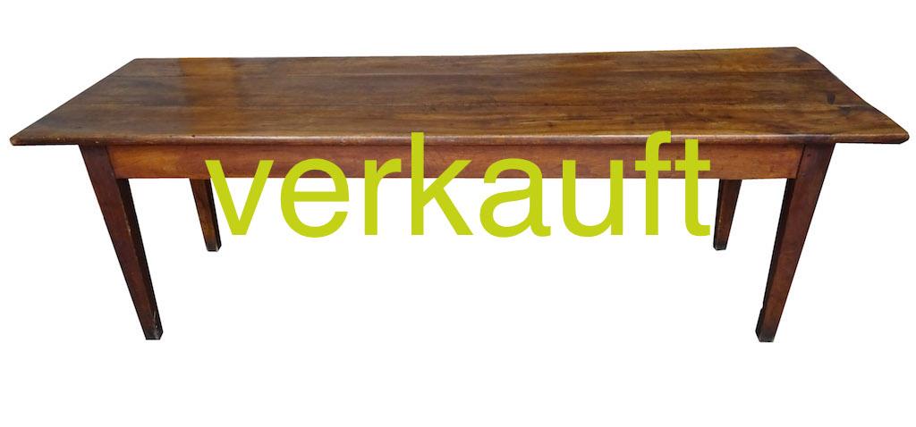 Verkauft Tisch 50 Nussbaum April15A