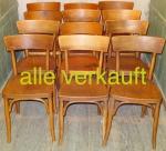 Verkauft 12 Thonet Stühle Mai15A