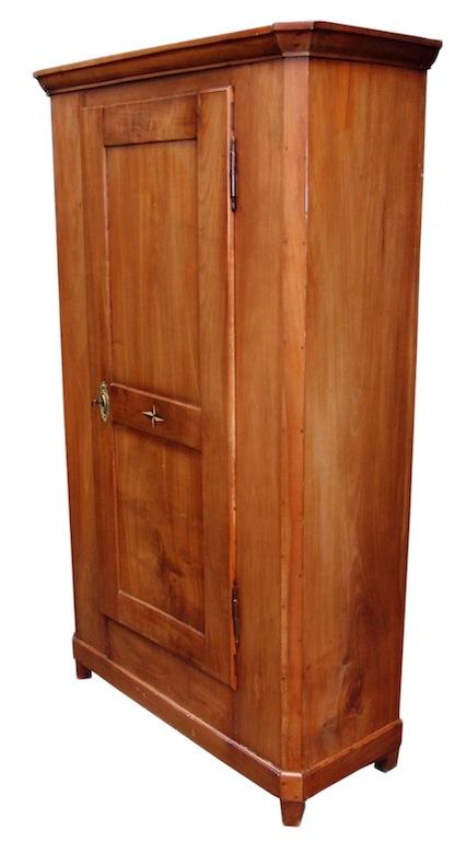 verkauft antiker eint riger biedermeier schrank kirschbaum massiv edeltr del antike m bel. Black Bedroom Furniture Sets. Home Design Ideas