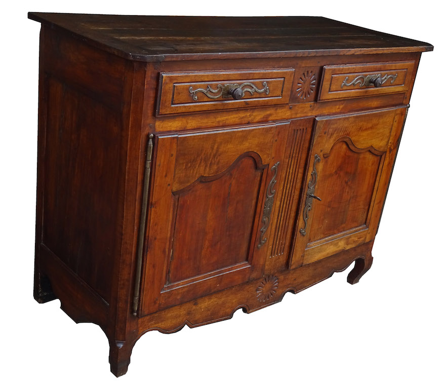 verkauft barocke anrichte aus dem elsass kirschbaum. Black Bedroom Furniture Sets. Home Design Ideas
