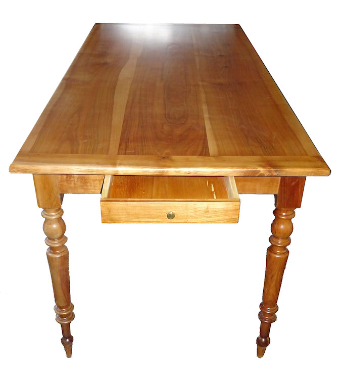 Verkauft antiker kirschbaum tisch 57 komplett for Tisch kirschbaum