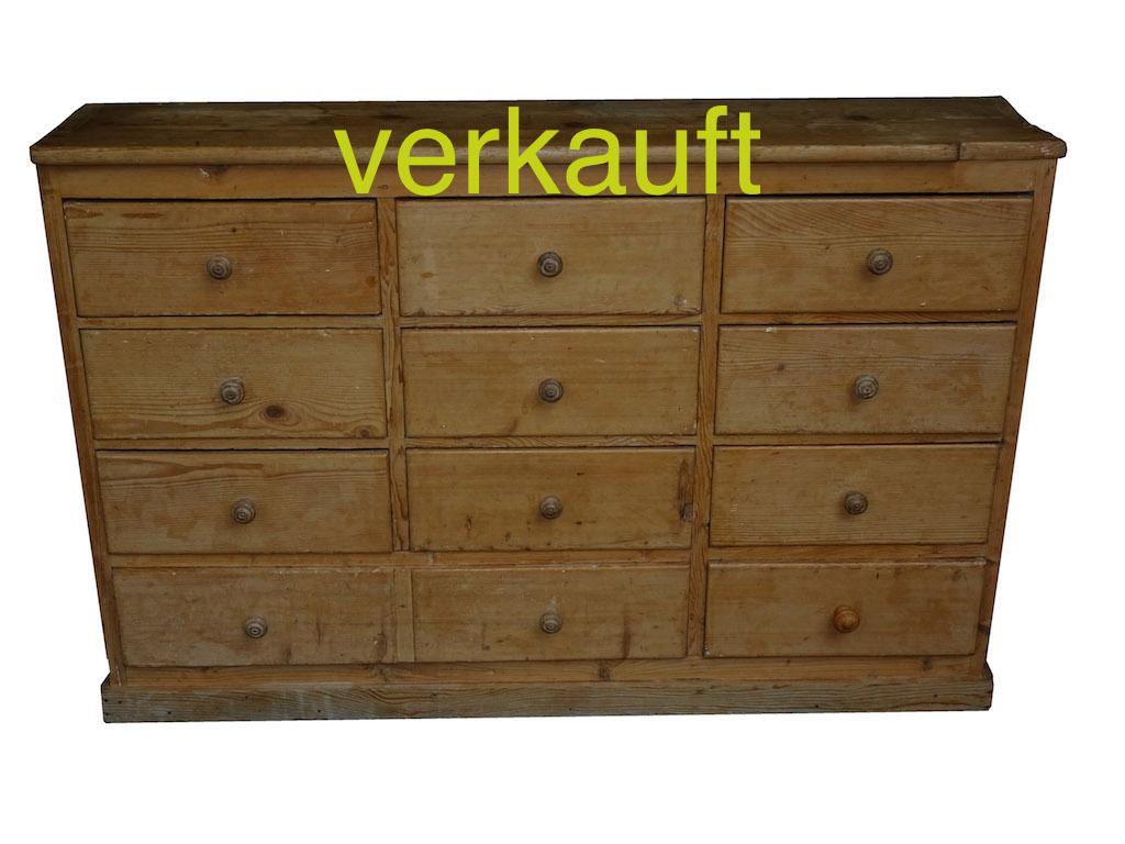 Verkauft Schubladenstock Juni15A