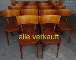 Verkauft 18 Bistrostühle schön Juli15A