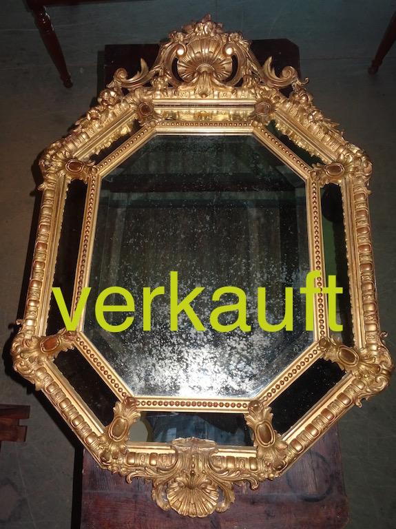 Verkauft Prunkspiegel Barock Juli15A