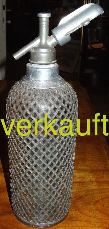 Verkauft Siphonflasche London Juli15A
