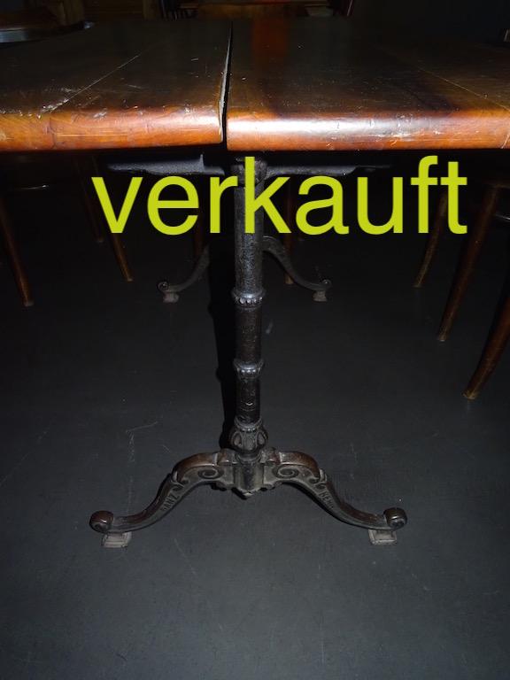 Bistrotisch Nb 112cm 6 Stühle Aug15A verkauft