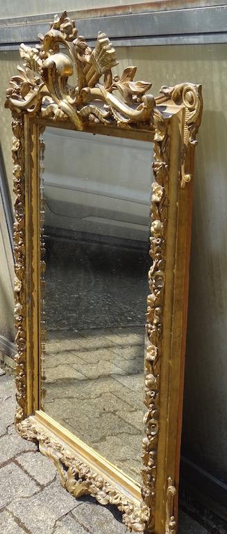 verkauft spektakul rer louis xvi spiegel edeltr del antike m bel. Black Bedroom Furniture Sets. Home Design Ideas