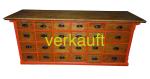 Verkauft Schubaldenstock rot Okt 15A