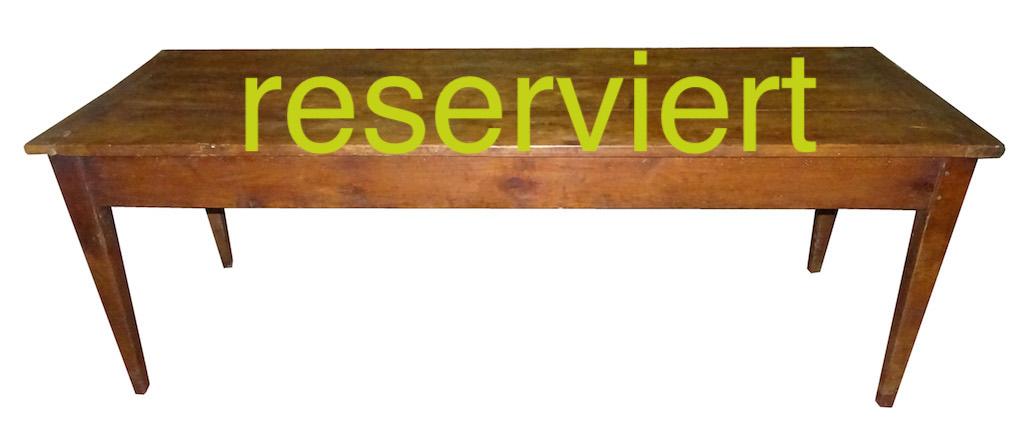 Tisch 61 Nov15A reserviert