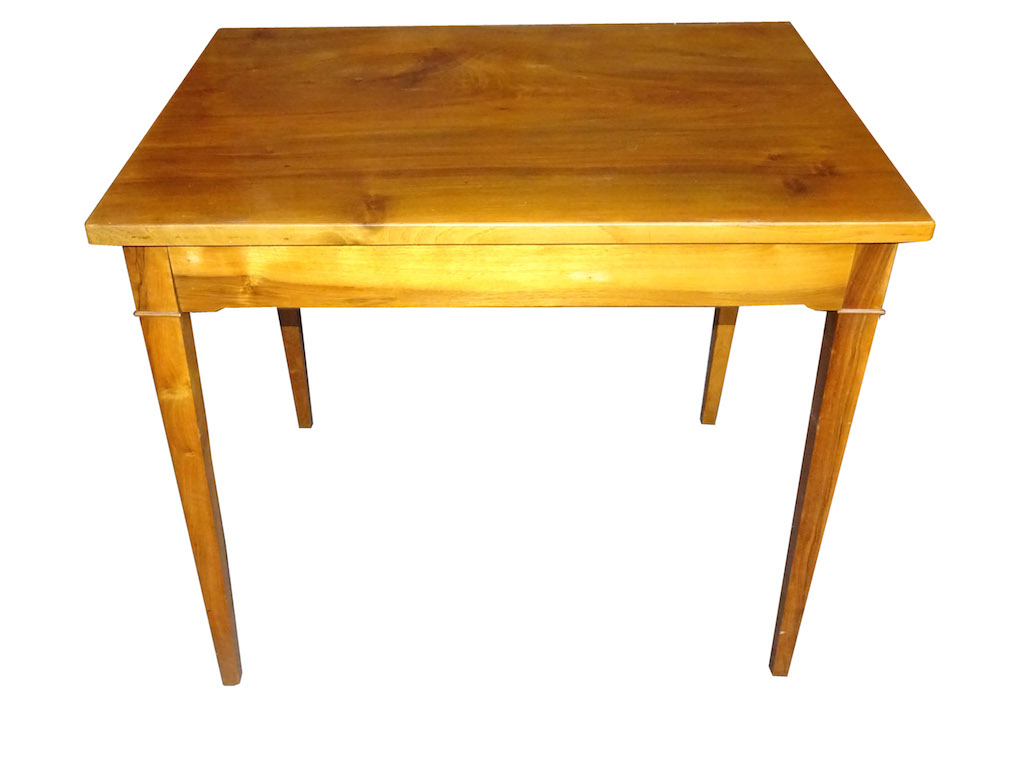kleiner arbeits oder schreibtisch biedermeier edeltr del antike m bel. Black Bedroom Furniture Sets. Home Design Ideas