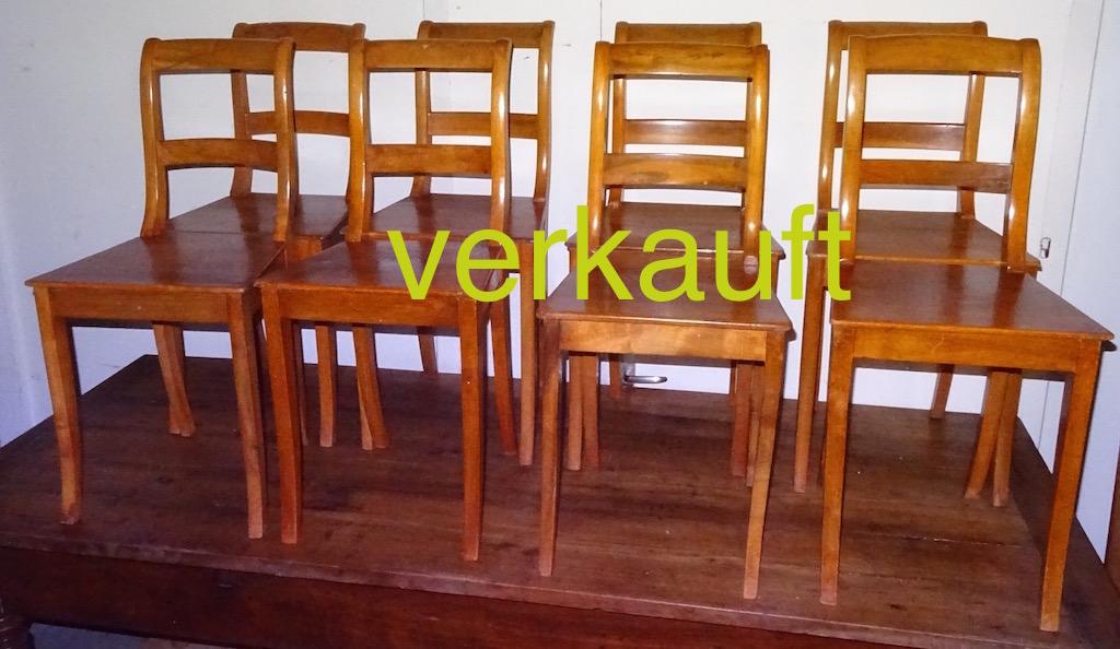 Verkauft 8 Stühle Bdm Nb Jan16A