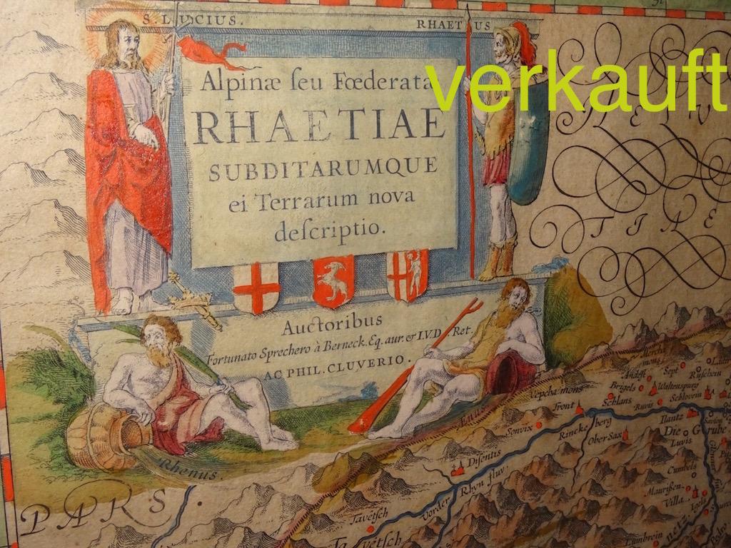 Verkauft Karte Rhaetia Jan16A