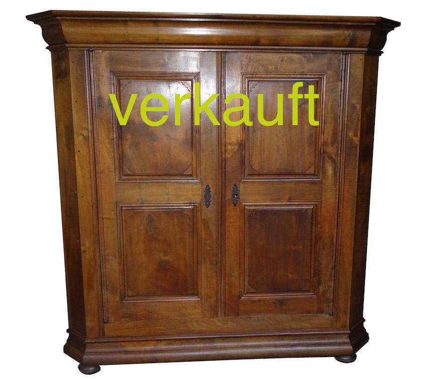 Verkauft Herrlicher Ostschweizer Barock Schrank Nussbaum Edeltrodel Antike Mobel