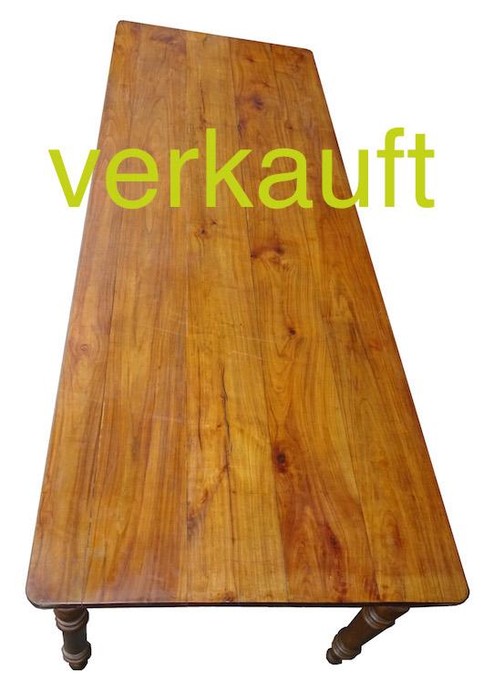 Verkauft Tisch 68 Kb 240cm Feb16A