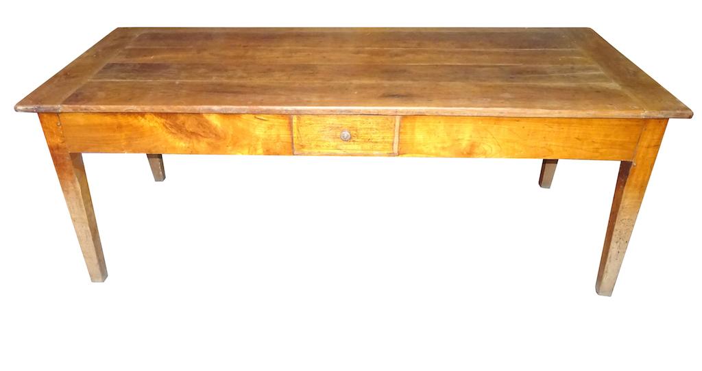 Antiker biedermeier tisch 71 kirschbaum kt bern for Schreibtisch 2 meter lang