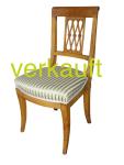 6 Bdm-Stühle gepolstert Mai16A verkauft