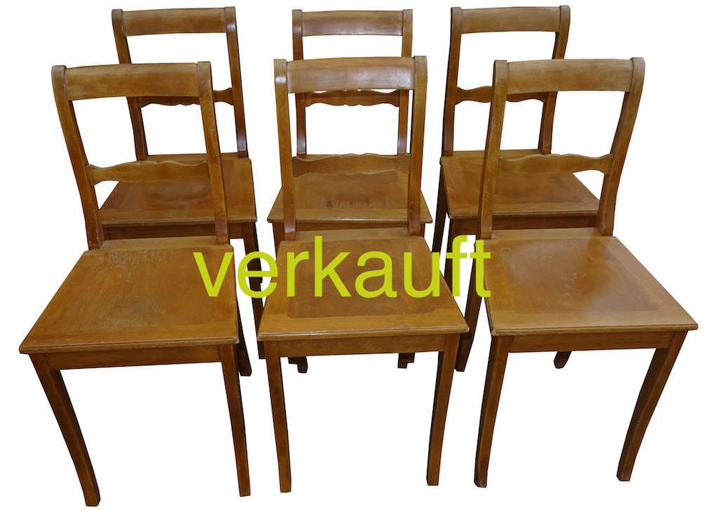 6 Wirtshausstühle Buche Aug16A verkauft