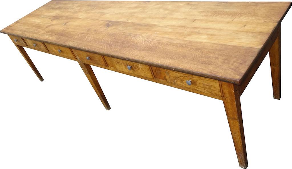 alle verkauft 3 herrliche sehr grosse tische mit 12 schubladen edeltr del antike m bel. Black Bedroom Furniture Sets. Home Design Ideas