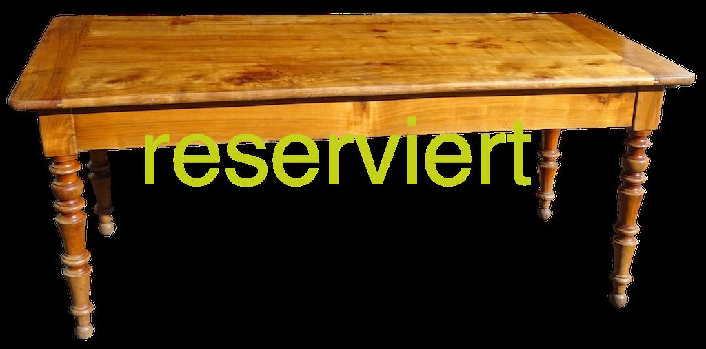 Tisch 86 Aug16A reserviert