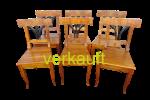 6 StühleBdmFächer Okt.16A verkauft
