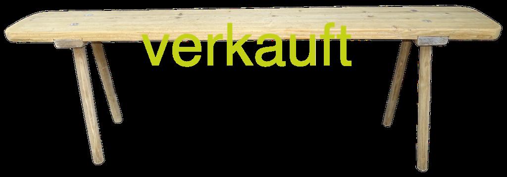 Stabellenbank ohne Rückl Dez16A verkauft