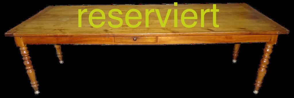 Tisch 98 Dez16A reserviert