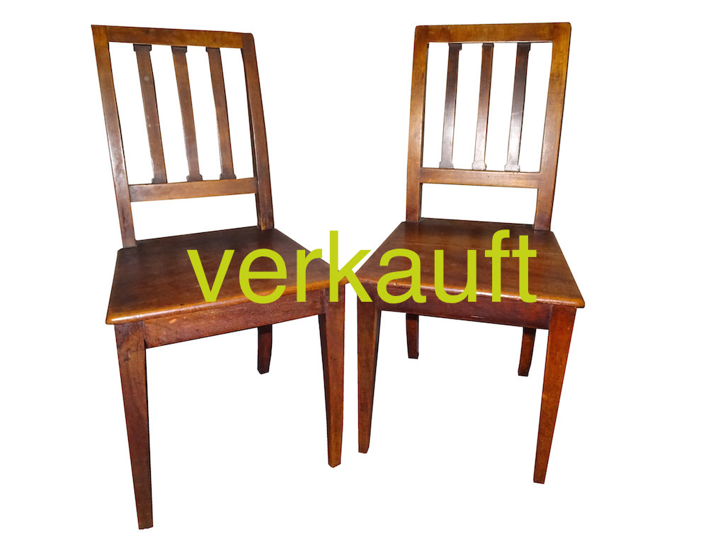2 Stühle Bdm BernNb März17A verkauft