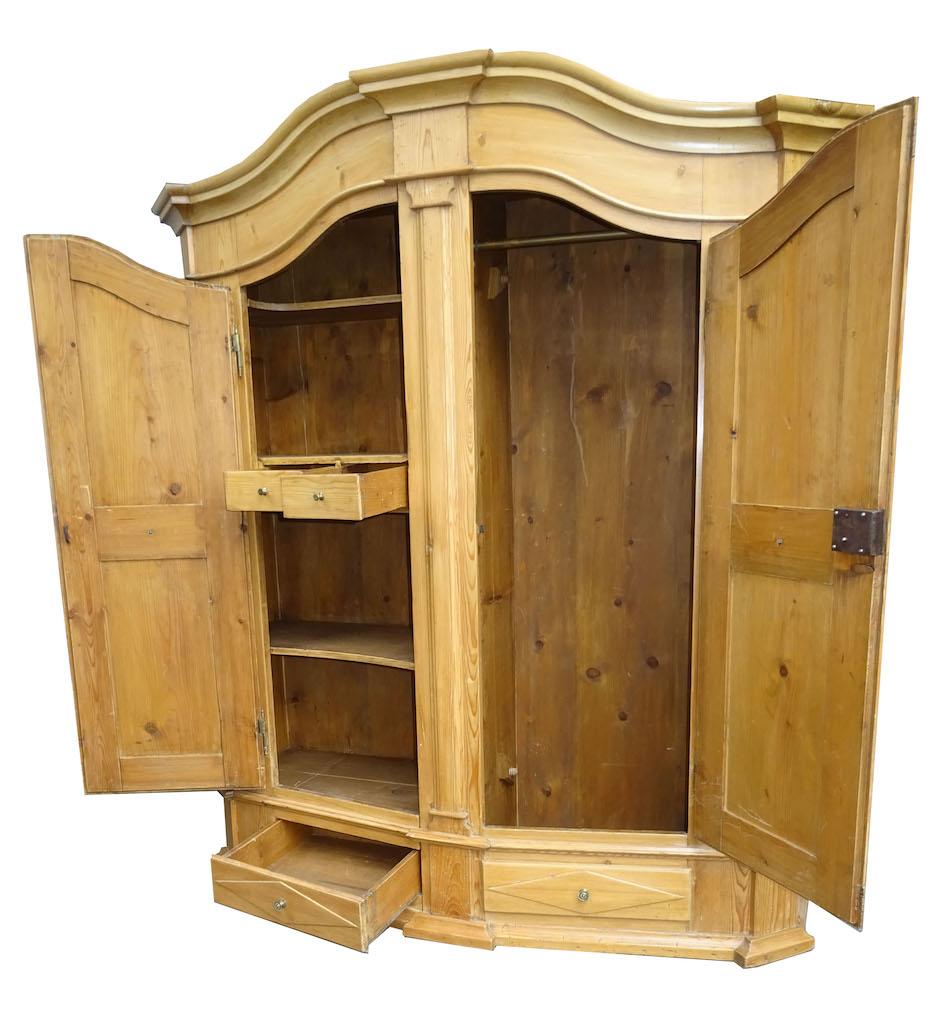 sehr sch ner bodensee schrank tanne um 1780 edeltr del antike m bel. Black Bedroom Furniture Sets. Home Design Ideas