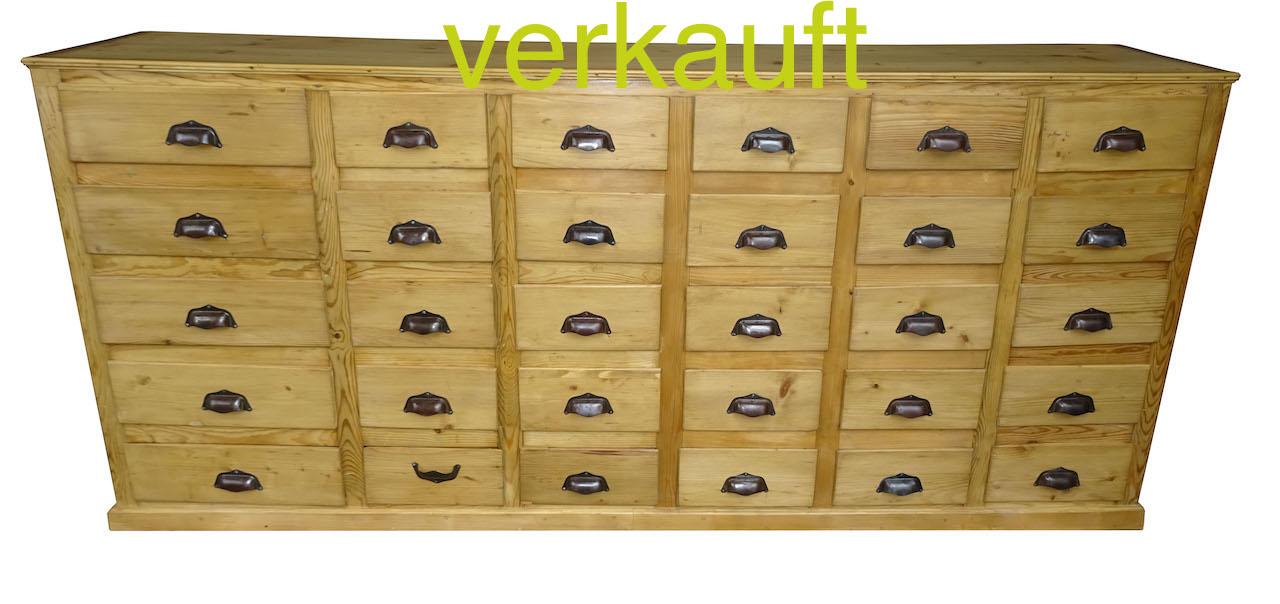 Schubladenstock nur Schubladen März17A verkauft