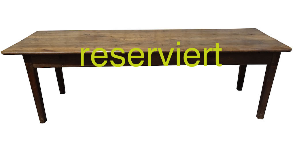 Tisch106 März17A reserviert