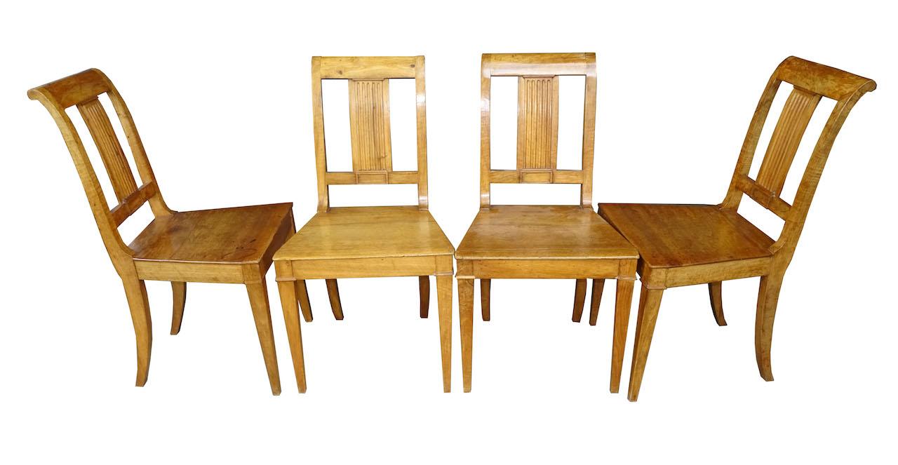 verkauft 4 berner nussbaum st hle fr hbiedermeier edeltr del antike m bel. Black Bedroom Furniture Sets. Home Design Ideas
