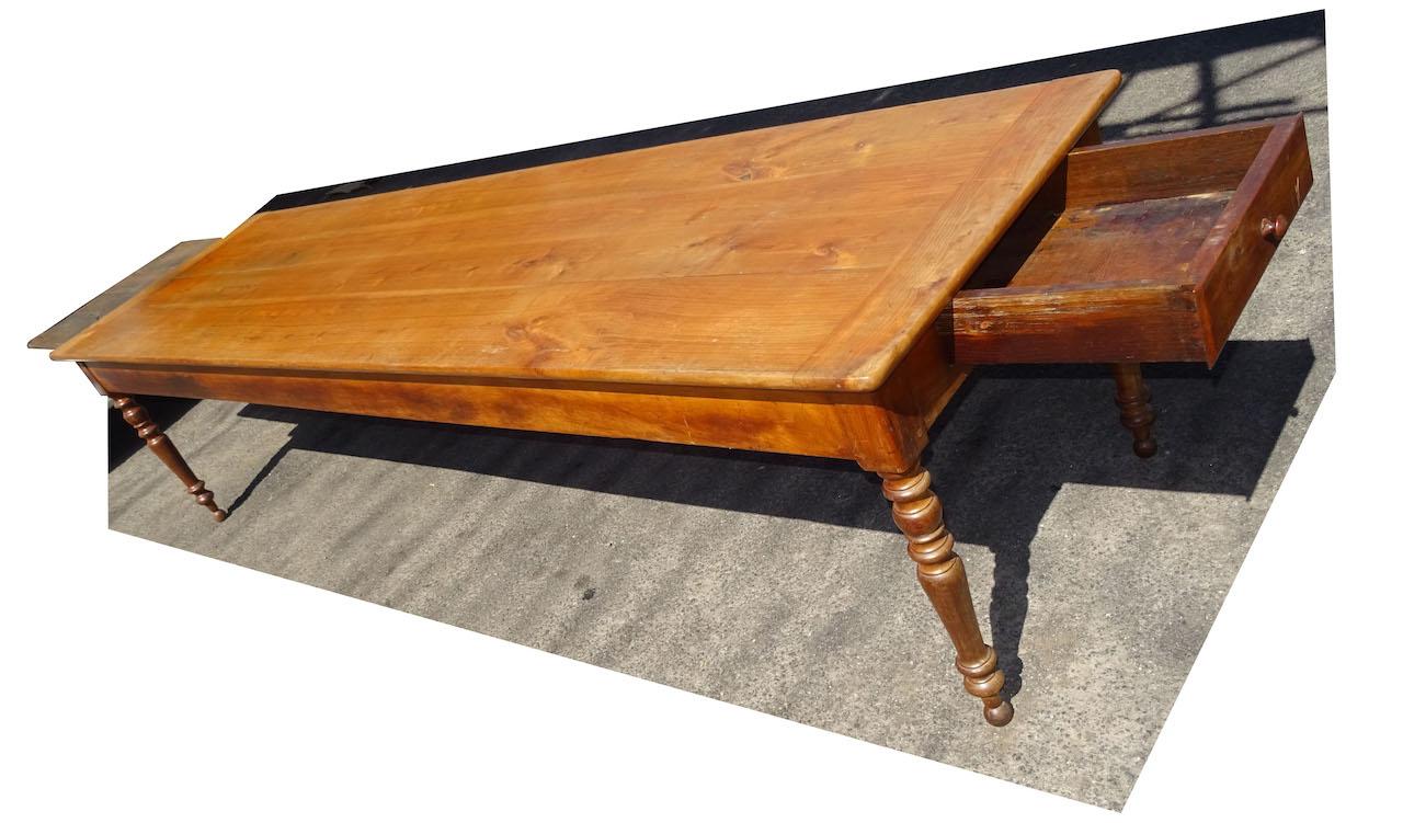 verkauft ein mega tisch 300cm langer antiker biedermeier tisch edeltr del antike m bel. Black Bedroom Furniture Sets. Home Design Ideas