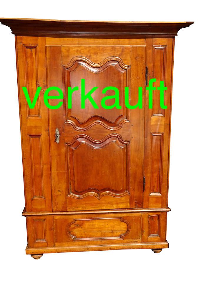 Verkauft Herausragender Barock Schrank Aus Basel Kirschbaum Edeltrodel Antike Mobel