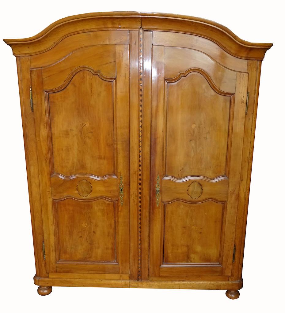 Prächtiger Berner Kirschbaum - Schrank - Edeltrödel - Antike Möbel