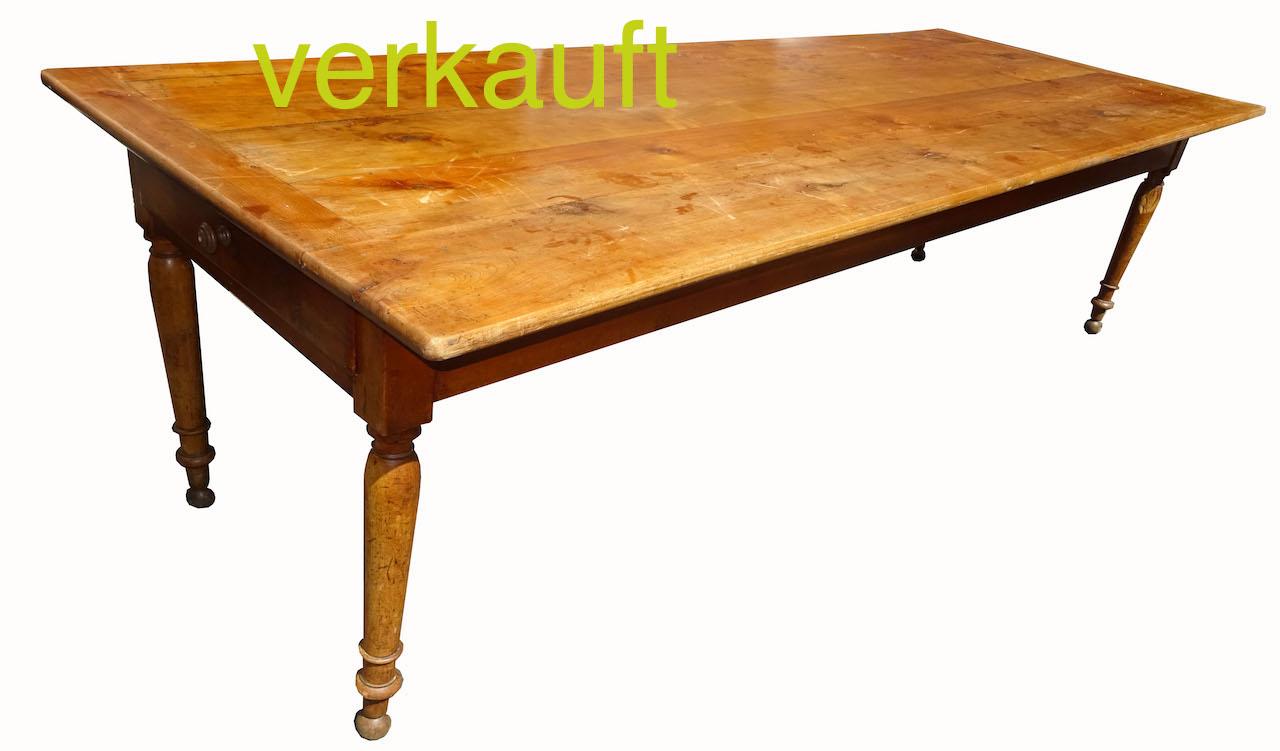 Währschafter Biedermeier U2013 Tisch 113 Um 1830/40 · Tisch112 Juni17A Verkauft