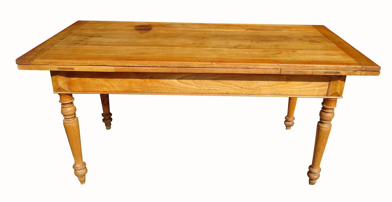 Schoner Alter Tisch 114 Kirschbaum Ausziehbar Edeltrodel Antike Mobel