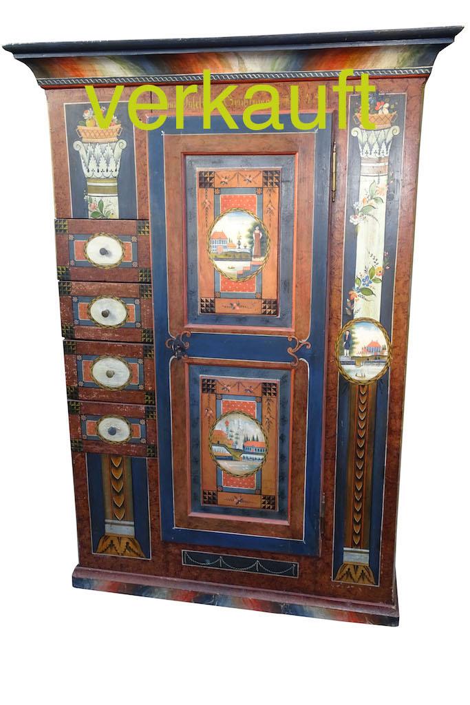 Schaffreitenschrank blau Aug17A verkauft