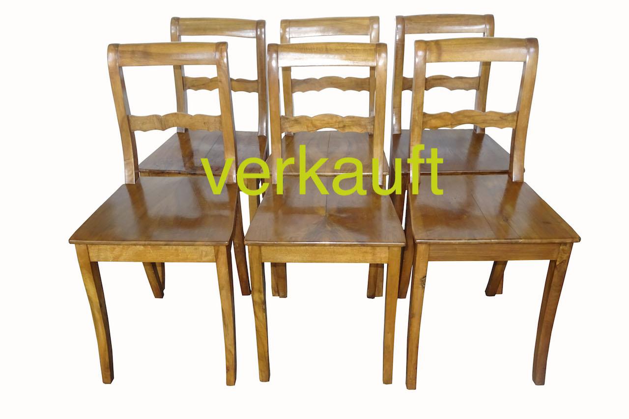 6 StühleBdmNb Sept17A verkauft