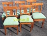 6 StühleBdmgrüngepolstert Sept17A verkauft