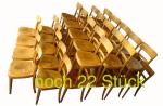 100 HG Stühle Okt17A noch 22 Stück