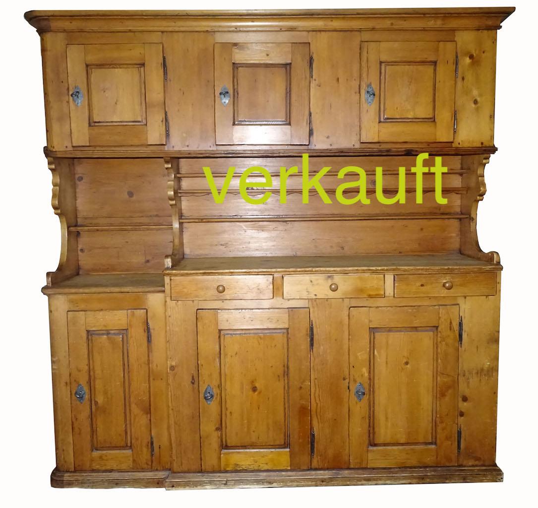 verkauft sehr sch nes innerschweizer buffet von ca 1790 tanne edeltr del antike m bel. Black Bedroom Furniture Sets. Home Design Ideas