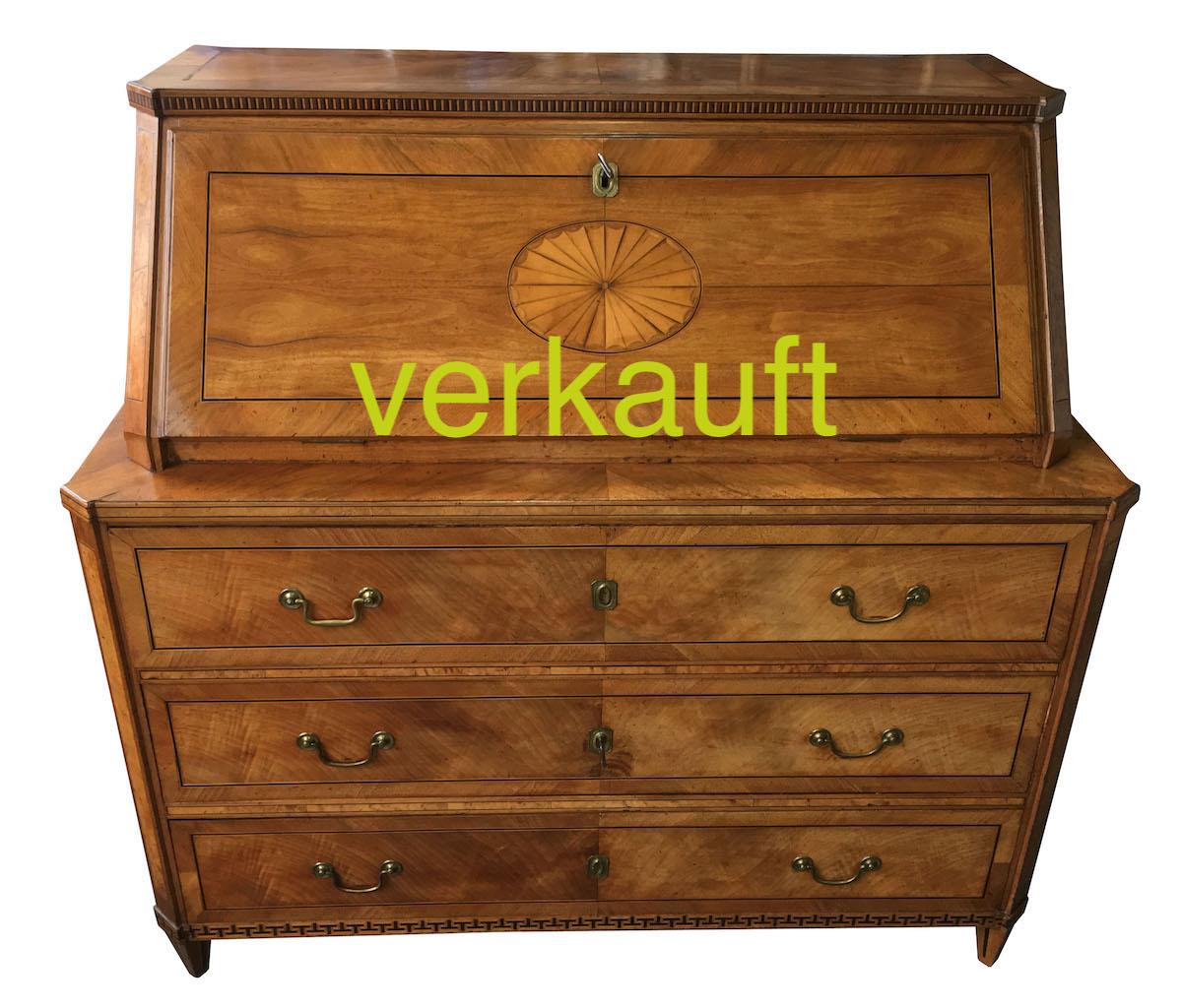 Verkauft Hochwertige Schreibkommode Von Hämmerli Lenzburg