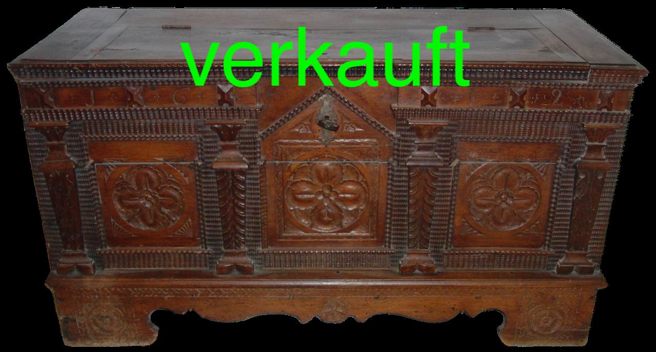 Datiert antike Kommode
