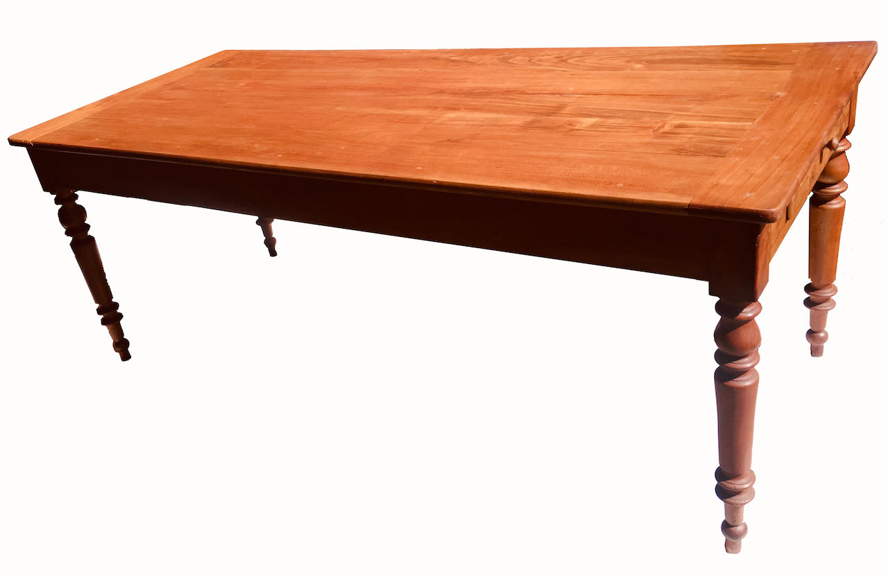 Grosser Antiker Biedermeier U2013 Tisch 130, Kirsche ...