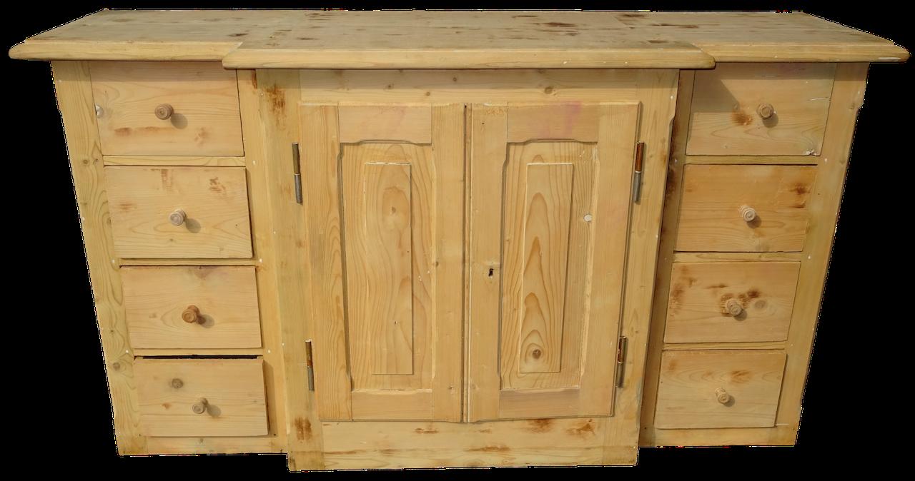sehr sch ne anrichte sideboard apothekertheke tanne edeltr del antike m bel. Black Bedroom Furniture Sets. Home Design Ideas