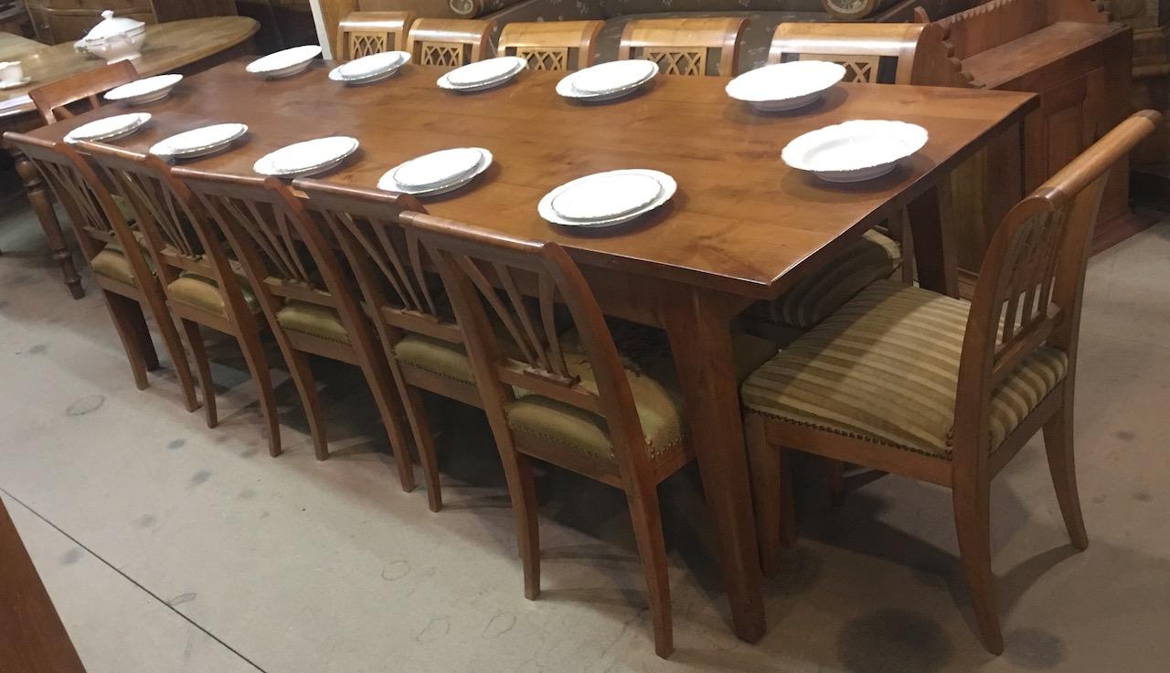 Verkauft Selten Grosser Biedermeier Tisch Fur 10 Bis 12